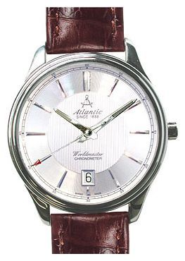 Atlantic 53751.41.21 - мужские наручные часы из коллекции WorldmasterAtlantic<br><br><br>Бренд: Atlantic<br>Модель: Atlantic 53751.41.21<br>Артикул: 53751.41.21<br>Вариант артикула: None<br>Коллекция: Worldmaster<br>Подколлекция: None<br>Страна: Швейцария<br>Пол: мужские<br>Тип механизма: механические<br>Механизм: 2824-2<br>Количество камней: None<br>Автоподзавод: есть<br>Источник энергии: пружинный механизм<br>Срок службы элемента питания: None<br>Дисплей: стрелки<br>Цифры: отсутствуют<br>Водозащита: WR 50<br>Противоударные: None<br>Материал корпуса: нерж. сталь<br>Материал браслета: кожа<br>Материал безеля: None<br>Стекло: сапфировое<br>Антибликовое покрытие: None<br>Цвет корпуса: None<br>Цвет браслета: None<br>Цвет циферблата: None<br>Цвет безеля: None<br>Размеры: 42x42 мм<br>Диаметр: None<br>Диаметр корпуса: None<br>Толщина: None<br>Ширина ремешка: None<br>Вес: None<br>Спорт-функции: None<br>Подсветка: стрелок<br>Вставка: None<br>Отображение даты: число<br>Хронограф: None<br>Таймер: None<br>Термометр: None<br>Хронометр: None<br>GPS: None<br>Радиосинхронизация: None<br>Барометр: None<br>Скелетон: None<br>Дополнительная информация: None<br>Дополнительные функции: None