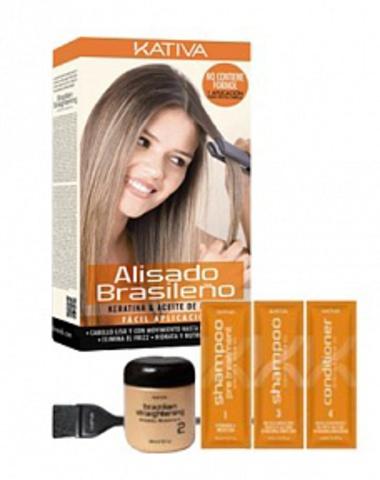 Набор для кератиновое выпрямление волос в домашних условиях