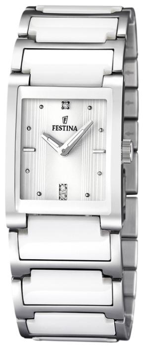 Festina F16536.1 - женские наручные часы из коллекции CeramicFestina<br><br><br>Бренд: Festina<br>Модель: Festina F16536/1<br>Артикул: F16536.1<br>Вариант артикула: None<br>Коллекция: Ceramic<br>Подколлекция: None<br>Страна: Испания<br>Пол: женские<br>Тип механизма: кварцевые<br>Механизм: None<br>Количество камней: None<br>Автоподзавод: None<br>Источник энергии: от батарейки<br>Срок службы элемента питания: None<br>Дисплей: стрелки<br>Цифры: отсутствуют<br>Водозащита: WR 50<br>Противоударные: None<br>Материал корпуса: нерж. сталь<br>Материал браслета: нерж. сталь + керамика<br>Материал безеля: None<br>Стекло: минеральное<br>Антибликовое покрытие: None<br>Цвет корпуса: None<br>Цвет браслета: None<br>Цвет циферблата: None<br>Цвет безеля: None<br>Размеры: 25x8 мм<br>Диаметр: None<br>Диаметр корпуса: None<br>Толщина: None<br>Ширина ремешка: None<br>Вес: 95 г<br>Спорт-функции: None<br>Подсветка: стрелок<br>Вставка: None<br>Отображение даты: None<br>Хронограф: None<br>Таймер: None<br>Термометр: None<br>Хронометр: None<br>GPS: None<br>Радиосинхронизация: None<br>Барометр: None<br>Скелетон: None<br>Дополнительная информация: None<br>Дополнительные функции: None