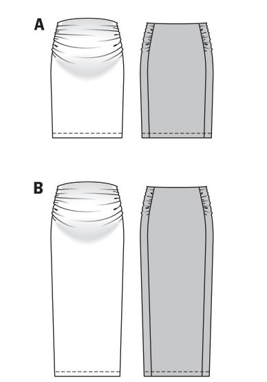 Как скроить юбку для беременных своими руками 65