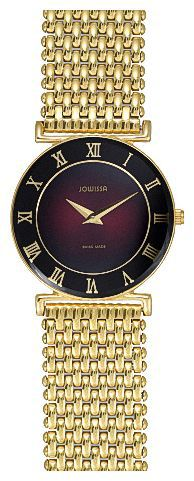 Jowissa J2.044.M - женские наручные часы из коллекции RomaJowissa<br><br><br>Бренд: Jowissa<br>Модель: Jowissa J2.044.M<br>Артикул: J2.044.M<br>Вариант артикула: None<br>Коллекция: Roma<br>Подколлекция: None<br>Страна: Швейцария<br>Пол: женские<br>Тип механизма: кварцевые<br>Механизм: Ronda 762<br>Количество камней: None<br>Автоподзавод: None<br>Источник энергии: от батарейки<br>Срок службы элемента питания: None<br>Дисплей: стрелки<br>Цифры: римские<br>Водозащита: WR 30<br>Противоударные: None<br>Материал корпуса: не указан, покрытие: позолота<br>Материал браслета: не указан<br>Материал безеля: None<br>Стекло: минеральное<br>Антибликовое покрытие: None<br>Цвет корпуса: None<br>Цвет браслета: None<br>Цвет циферблата: None<br>Цвет безеля: None<br>Размеры: 31x31x6 мм<br>Диаметр: None<br>Диаметр корпуса: None<br>Толщина: None<br>Ширина ремешка: None<br>Вес: None<br>Спорт-функции: None<br>Подсветка: None<br>Вставка: None<br>Отображение даты: None<br>Хронограф: None<br>Таймер: None<br>Термометр: None<br>Хронометр: None<br>GPS: None<br>Радиосинхронизация: None<br>Барометр: None<br>Скелетон: None<br>Дополнительная информация: позолота 5 мкм<br>Дополнительные функции: None