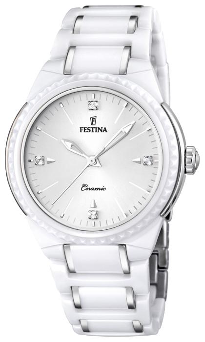 Festina F16698.1 - женские наручные часы из коллекции CeramicFestina<br><br><br>Бренд: Festina<br>Модель: Festina F16698/1<br>Артикул: F16698.1<br>Вариант артикула: None<br>Коллекция: Ceramic<br>Подколлекция: None<br>Страна: Испания<br>Пол: женские<br>Тип механизма: кварцевые<br>Механизм: M2035<br>Количество камней: None<br>Автоподзавод: None<br>Источник энергии: от батарейки<br>Срок службы элемента питания: None<br>Дисплей: стрелки<br>Цифры: отсутствуют<br>Водозащита: WR 50<br>Противоударные: None<br>Материал корпуса: нерж. сталь + керамика<br>Материал браслета: нерж. сталь + керамика<br>Материал безеля: None<br>Стекло: минеральное<br>Антибликовое покрытие: None<br>Цвет корпуса: None<br>Цвет браслета: None<br>Цвет циферблата: None<br>Цвет безеля: None<br>Размеры: 38 мм<br>Диаметр: None<br>Диаметр корпуса: None<br>Толщина: None<br>Ширина ремешка: None<br>Вес: None<br>Спорт-функции: None<br>Подсветка: стрелок<br>Вставка: None<br>Отображение даты: None<br>Хронограф: None<br>Таймер: None<br>Термометр: None<br>Хронометр: None<br>GPS: None<br>Радиосинхронизация: None<br>Барометр: None<br>Скелетон: None<br>Дополнительная информация: None<br>Дополнительные функции: None