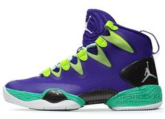 Кроссовки мужские Nike Jordan 28 SE Violet Green