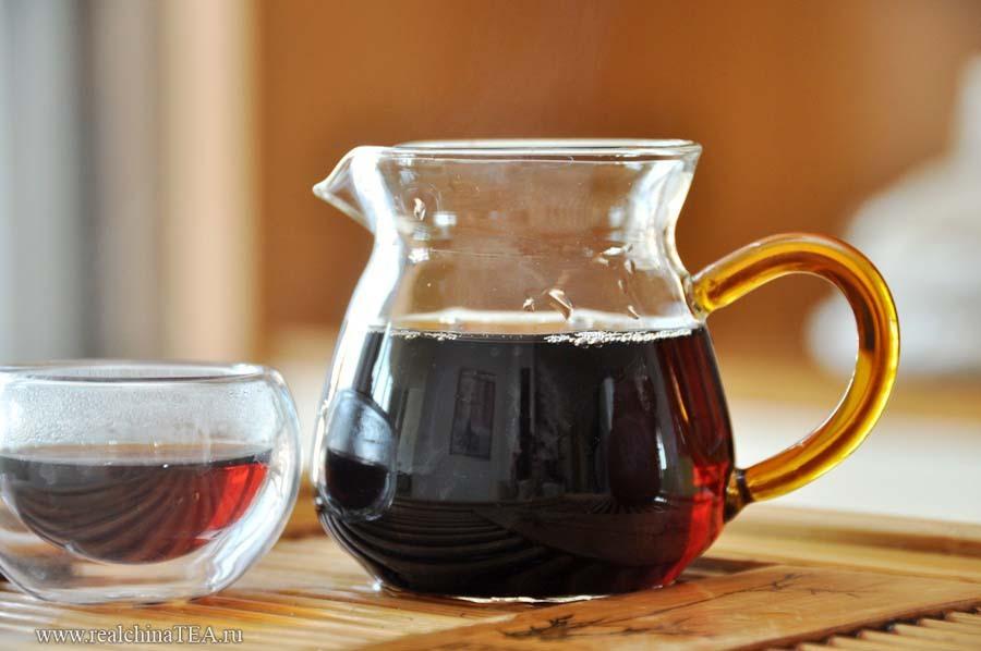 Чахай или открытый чайничек из тонкого стекла