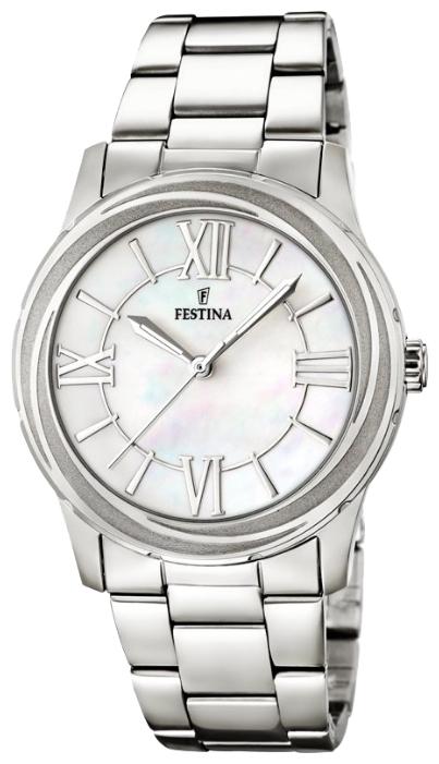 Festina F16722.1 - женские наручные часы из коллекции MademoiselleFestina<br><br><br>Бренд: Festina<br>Модель: Festina F16722/1<br>Артикул: F16722.1<br>Вариант артикула: None<br>Коллекция: Mademoiselle<br>Подколлекция: None<br>Страна: Испания<br>Пол: женские<br>Тип механизма: кварцевые<br>Механизм: M2035<br>Количество камней: None<br>Автоподзавод: None<br>Источник энергии: от батарейки<br>Срок службы элемента питания: None<br>Дисплей: стрелки<br>Цифры: римские<br>Водозащита: WR 50<br>Противоударные: None<br>Материал корпуса: нерж. сталь<br>Материал браслета: нерж. сталь<br>Материал безеля: None<br>Стекло: минеральное<br>Антибликовое покрытие: None<br>Цвет корпуса: None<br>Цвет браслета: None<br>Цвет циферблата: None<br>Цвет безеля: None<br>Размеры: 36.2x9 мм<br>Диаметр: None<br>Диаметр корпуса: None<br>Толщина: None<br>Ширина ремешка: None<br>Вес: None<br>Спорт-функции: None<br>Подсветка: стрелок<br>Вставка: None<br>Отображение даты: None<br>Хронограф: None<br>Таймер: None<br>Термометр: None<br>Хронометр: None<br>GPS: None<br>Радиосинхронизация: None<br>Барометр: None<br>Скелетон: None<br>Дополнительная информация: None<br>Дополнительные функции: None