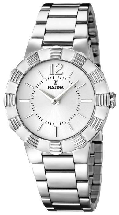 Festina F16730.1 - женские наручные часы из коллекции MademoiselleFestina<br><br><br>Бренд: Festina<br>Модель: Festina F16730/1<br>Артикул: F16730.1<br>Вариант артикула: None<br>Коллекция: Mademoiselle<br>Подколлекция: None<br>Страна: Испания<br>Пол: женские<br>Тип механизма: кварцевые<br>Механизм: M2025<br>Количество камней: None<br>Автоподзавод: None<br>Источник энергии: от батарейки<br>Срок службы элемента питания: None<br>Дисплей: стрелки<br>Цифры: арабские<br>Водозащита: WR 50<br>Противоударные: None<br>Материал корпуса: нерж. сталь<br>Материал браслета: нерж. сталь<br>Материал безеля: None<br>Стекло: минеральное<br>Антибликовое покрытие: None<br>Цвет корпуса: None<br>Цвет браслета: None<br>Цвет циферблата: None<br>Цвет безеля: None<br>Размеры: 35 мм<br>Диаметр: None<br>Диаметр корпуса: None<br>Толщина: None<br>Ширина ремешка: None<br>Вес: None<br>Спорт-функции: None<br>Подсветка: None<br>Вставка: None<br>Отображение даты: None<br>Хронограф: None<br>Таймер: None<br>Термометр: None<br>Хронометр: None<br>GPS: None<br>Радиосинхронизация: None<br>Барометр: None<br>Скелетон: None<br>Дополнительная информация: None<br>Дополнительные функции: None