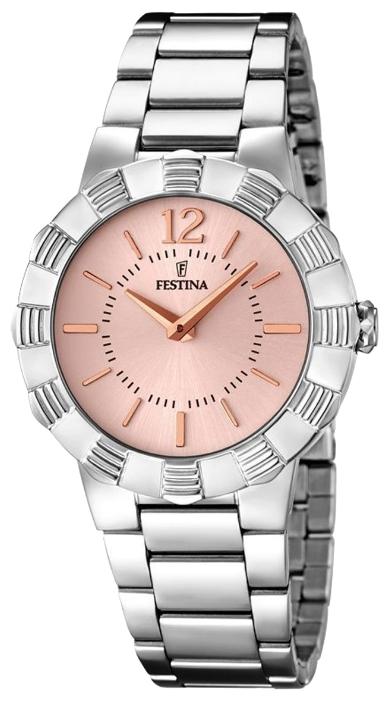Festina F16730.3 - женские наручные часы из коллекции MademoiselleFestina<br><br><br>Бренд: Festina<br>Модель: Festina F16730/3<br>Артикул: F16730.3<br>Вариант артикула: None<br>Коллекция: Mademoiselle<br>Подколлекция: None<br>Страна: Испания<br>Пол: женские<br>Тип механизма: кварцевые<br>Механизм: M2025<br>Количество камней: None<br>Автоподзавод: None<br>Источник энергии: от батарейки<br>Срок службы элемента питания: None<br>Дисплей: стрелки<br>Цифры: арабские<br>Водозащита: WR 50<br>Противоударные: None<br>Материал корпуса: нерж. сталь<br>Материал браслета: нерж. сталь<br>Материал безеля: None<br>Стекло: минеральное<br>Антибликовое покрытие: None<br>Цвет корпуса: None<br>Цвет браслета: None<br>Цвет циферблата: None<br>Цвет безеля: None<br>Размеры: 35 мм<br>Диаметр: None<br>Диаметр корпуса: None<br>Толщина: None<br>Ширина ремешка: None<br>Вес: None<br>Спорт-функции: None<br>Подсветка: None<br>Вставка: None<br>Отображение даты: None<br>Хронограф: None<br>Таймер: None<br>Термометр: None<br>Хронометр: None<br>GPS: None<br>Радиосинхронизация: None<br>Барометр: None<br>Скелетон: None<br>Дополнительная информация: None<br>Дополнительные функции: None