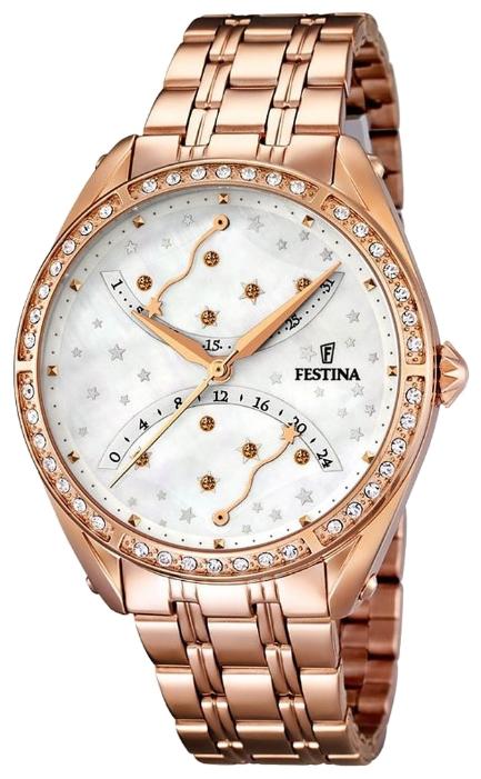 Festina F16742.1 - женские наручные часы из коллекции RetroFestina<br><br><br>Бренд: Festina<br>Модель: Festina F16742/1<br>Артикул: F16742.1<br>Вариант артикула: None<br>Коллекция: Retro<br>Подколлекция: None<br>Страна: Испания<br>Пол: женские<br>Тип механизма: кварцевые<br>Механизм: MGP50<br>Количество камней: None<br>Автоподзавод: None<br>Источник энергии: от батарейки<br>Срок службы элемента питания: None<br>Дисплей: стрелки<br>Цифры: отсутствуют<br>Водозащита: WR 50<br>Противоударные: None<br>Материал корпуса: нерж. сталь, PVD покрытие (полное)<br>Материал браслета: нерж. сталь, PVD покрытие (полное)<br>Материал безеля: None<br>Стекло: минеральное<br>Антибликовое покрытие: None<br>Цвет корпуса: None<br>Цвет браслета: None<br>Цвет циферблата: None<br>Цвет безеля: None<br>Размеры: 37.2 мм<br>Диаметр: None<br>Диаметр корпуса: None<br>Толщина: None<br>Ширина ремешка: None<br>Вес: None<br>Спорт-функции: None<br>Подсветка: None<br>Вставка: None<br>Отображение даты: число<br>Хронограф: None<br>Таймер: None<br>Термометр: None<br>Хронометр: None<br>GPS: None<br>Радиосинхронизация: None<br>Барометр: None<br>Скелетон: None<br>Дополнительная информация: None<br>Дополнительные функции: None