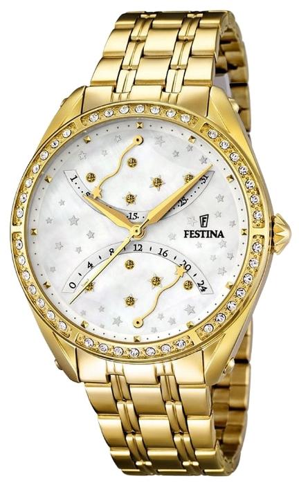Festina F16743.1 - женские наручные часы из коллекции MultifunctionFestina<br><br><br>Бренд: Festina<br>Модель: Festina F16743/1<br>Артикул: F16743.1<br>Вариант артикула: None<br>Коллекция: Multifunction<br>Подколлекция: None<br>Страна: Испания<br>Пол: женские<br>Тип механизма: кварцевые<br>Механизм: MGP50<br>Количество камней: None<br>Автоподзавод: None<br>Источник энергии: от батарейки<br>Срок службы элемента питания: None<br>Дисплей: стрелки<br>Цифры: отсутствуют<br>Водозащита: WR 50<br>Противоударные: None<br>Материал корпуса: нерж. сталь, PVD покрытие (полное)<br>Материал браслета: нерж. сталь, PVD покрытие (полное)<br>Материал безеля: None<br>Стекло: минеральное<br>Антибликовое покрытие: None<br>Цвет корпуса: None<br>Цвет браслета: None<br>Цвет циферблата: None<br>Цвет безеля: None<br>Размеры: 37.2 мм<br>Диаметр: None<br>Диаметр корпуса: None<br>Толщина: None<br>Ширина ремешка: None<br>Вес: None<br>Спорт-функции: None<br>Подсветка: None<br>Вставка: None<br>Отображение даты: число<br>Хронограф: None<br>Таймер: None<br>Термометр: None<br>Хронометр: None<br>GPS: None<br>Радиосинхронизация: None<br>Барометр: None<br>Скелетон: None<br>Дополнительная информация: None<br>Дополнительные функции: None