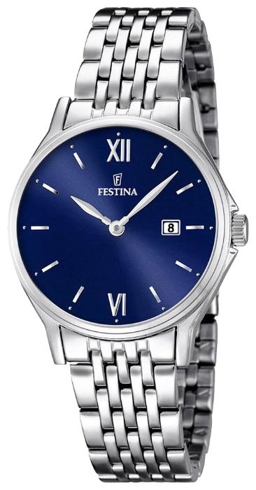 Festina F16748.3 - женские наручные часы из коллекции ClassicFestina<br><br><br>Бренд: Festina<br>Модель: Festina F16748/3<br>Артикул: F16748.3<br>Вариант артикула: None<br>Коллекция: Classic<br>Подколлекция: None<br>Страна: Испания<br>Пол: женские<br>Тип механизма: кварцевые<br>Механизм: MGL15<br>Количество камней: None<br>Автоподзавод: None<br>Источник энергии: от батарейки<br>Срок службы элемента питания: None<br>Дисплей: стрелки<br>Цифры: римские<br>Водозащита: WR 50<br>Противоударные: None<br>Материал корпуса: нерж. сталь<br>Материал браслета: нерж. сталь<br>Материал безеля: None<br>Стекло: минеральное<br>Антибликовое покрытие: None<br>Цвет корпуса: None<br>Цвет браслета: None<br>Цвет циферблата: None<br>Цвет безеля: None<br>Размеры: 30.8 мм<br>Диаметр: None<br>Диаметр корпуса: None<br>Толщина: None<br>Ширина ремешка: None<br>Вес: None<br>Спорт-функции: None<br>Подсветка: None<br>Вставка: None<br>Отображение даты: число<br>Хронограф: None<br>Таймер: None<br>Термометр: None<br>Хронометр: None<br>GPS: None<br>Радиосинхронизация: None<br>Барометр: None<br>Скелетон: None<br>Дополнительная информация: None<br>Дополнительные функции: None
