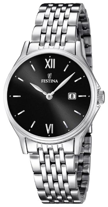 Festina F16748.4 - женские наручные часы из коллекции ClassicFestina<br><br><br>Бренд: Festina<br>Модель: Festina F16748/4<br>Артикул: F16748.4<br>Вариант артикула: None<br>Коллекция: Classic<br>Подколлекция: None<br>Страна: Испания<br>Пол: женские<br>Тип механизма: кварцевые<br>Механизм: MGL15<br>Количество камней: None<br>Автоподзавод: None<br>Источник энергии: от батарейки<br>Срок службы элемента питания: None<br>Дисплей: стрелки<br>Цифры: римские<br>Водозащита: WR 50<br>Противоударные: None<br>Материал корпуса: нерж. сталь<br>Материал браслета: нерж. сталь<br>Материал безеля: None<br>Стекло: минеральное<br>Антибликовое покрытие: None<br>Цвет корпуса: None<br>Цвет браслета: None<br>Цвет циферблата: None<br>Цвет безеля: None<br>Размеры: 30.8 мм<br>Диаметр: None<br>Диаметр корпуса: None<br>Толщина: None<br>Ширина ремешка: None<br>Вес: None<br>Спорт-функции: None<br>Подсветка: None<br>Вставка: None<br>Отображение даты: число<br>Хронограф: None<br>Таймер: None<br>Термометр: None<br>Хронометр: None<br>GPS: None<br>Радиосинхронизация: None<br>Барометр: None<br>Скелетон: None<br>Дополнительная информация: None<br>Дополнительные функции: None