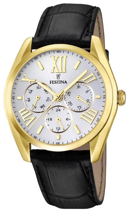 Festina F16753.1 - мужские наручные часы из коллекции MultifunctionFestina<br><br><br>Бренд: Festina<br>Модель: Festina F16753/1<br>Артикул: F16753.1<br>Вариант артикула: None<br>Коллекция: Multifunction<br>Подколлекция: None<br>Страна: Испания<br>Пол: мужские<br>Тип механизма: кварцевые<br>Механизм: M6P29<br>Количество камней: None<br>Автоподзавод: None<br>Источник энергии: от батарейки<br>Срок службы элемента питания: None<br>Дисплей: стрелки<br>Цифры: римские<br>Водозащита: WR 50<br>Противоударные: None<br>Материал корпуса: нерж. сталь, PVD покрытие (полное)<br>Материал браслета: кожа<br>Материал безеля: None<br>Стекло: минеральное<br>Антибликовое покрытие: None<br>Цвет корпуса: None<br>Цвет браслета: None<br>Цвет циферблата: None<br>Цвет безеля: None<br>Размеры: 42.2 мм<br>Диаметр: None<br>Диаметр корпуса: None<br>Толщина: None<br>Ширина ремешка: None<br>Вес: None<br>Спорт-функции: None<br>Подсветка: None<br>Вставка: None<br>Отображение даты: число, день недели<br>Хронограф: None<br>Таймер: None<br>Термометр: None<br>Хронометр: None<br>GPS: None<br>Радиосинхронизация: None<br>Барометр: None<br>Скелетон: None<br>Дополнительная информация: None<br>Дополнительные функции: None