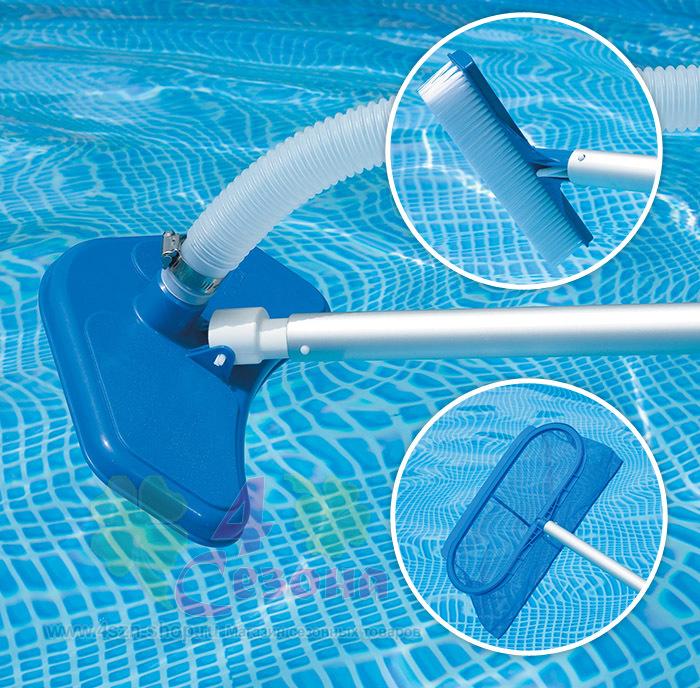 Как сделать сачок для бассейна своими руками видео