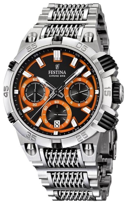 Festina F16774.6 - мужские наручные часы из коллекции Chrono BikeFestina<br><br><br>Бренд: Festina<br>Модель: Festina F16774/6<br>Артикул: F16774.6<br>Вариант артикула: None<br>Коллекция: Chrono Bike<br>Подколлекция: None<br>Страна: Испания<br>Пол: мужские<br>Тип механизма: кварцевые<br>Механизм: M6S20<br>Количество камней: None<br>Автоподзавод: None<br>Источник энергии: от батарейки<br>Срок службы элемента питания: None<br>Дисплей: стрелки<br>Цифры: отсутствуют<br>Водозащита: WR 100<br>Противоударные: None<br>Материал корпуса: нерж. сталь<br>Материал браслета: нерж. сталь<br>Материал безеля: None<br>Стекло: минеральное<br>Антибликовое покрытие: None<br>Цвет корпуса: None<br>Цвет браслета: None<br>Цвет циферблата: None<br>Цвет безеля: None<br>Размеры: 44 мм<br>Диаметр: None<br>Диаметр корпуса: None<br>Толщина: None<br>Ширина ремешка: None<br>Вес: None<br>Спорт-функции: секундомер<br>Подсветка: стрелок<br>Вставка: None<br>Отображение даты: число<br>Хронограф: есть<br>Таймер: None<br>Термометр: None<br>Хронометр: None<br>GPS: None<br>Радиосинхронизация: None<br>Барометр: None<br>Скелетон: None<br>Дополнительная информация: None<br>Дополнительные функции: None