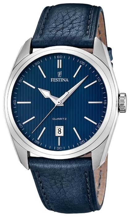 Festina F16777.3 - мужские наручные часы из коллекции Correa ClasicoFestina<br><br><br>Бренд: Festina<br>Модель: Festina F16777/3<br>Артикул: F16777.3<br>Вариант артикула: None<br>Коллекция: Correa Clasico<br>Подколлекция: None<br>Страна: Испания<br>Пол: мужские<br>Тип механизма: кварцевые<br>Механизм: M2315<br>Количество камней: None<br>Автоподзавод: None<br>Источник энергии: от батарейки<br>Срок службы элемента питания: None<br>Дисплей: стрелки<br>Цифры: отсутствуют<br>Водозащита: WR 50<br>Противоударные: None<br>Материал корпуса: нерж. сталь<br>Материал браслета: кожа<br>Материал безеля: None<br>Стекло: минеральное<br>Антибликовое покрытие: None<br>Цвет корпуса: None<br>Цвет браслета: None<br>Цвет циферблата: None<br>Цвет безеля: None<br>Размеры: 44x12 мм<br>Диаметр: None<br>Диаметр корпуса: None<br>Толщина: None<br>Ширина ремешка: None<br>Вес: None<br>Спорт-функции: None<br>Подсветка: стрелок<br>Вставка: None<br>Отображение даты: число<br>Хронограф: None<br>Таймер: None<br>Термометр: None<br>Хронометр: None<br>GPS: None<br>Радиосинхронизация: None<br>Барометр: None<br>Скелетон: None<br>Дополнительная информация: None<br>Дополнительные функции: None