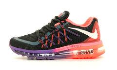 Кроссовки Женские Nike Air Max 2015 Black Violet Pink