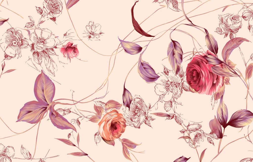 Обои на рабочий стол текстура цветы