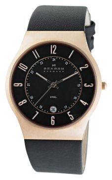 Skagen 233XXLRLB - мужские наручные часы из коллекции LeatherSkagen<br><br><br>Бренд: Skagen<br>Модель: Skagen 233XXLRLB<br>Артикул: 233XXLRLB<br>Вариант артикула: None<br>Коллекция: Leather<br>Подколлекция: None<br>Страна: Дания<br>Пол: мужские<br>Тип механизма: кварцевые<br>Механизм: None<br>Количество камней: None<br>Автоподзавод: None<br>Источник энергии: от батарейки<br>Срок службы элемента питания: None<br>Дисплей: стрелки<br>Цифры: арабские<br>Водозащита: WR 30<br>Противоударные: None<br>Материал корпуса: нерж. сталь, покрытие: позолота<br>Материал браслета: кожа<br>Материал безеля: None<br>Стекло: минеральное<br>Антибликовое покрытие: None<br>Цвет корпуса: None<br>Цвет браслета: None<br>Цвет циферблата: None<br>Цвет безеля: None<br>Размеры: 37x37 мм<br>Диаметр: None<br>Диаметр корпуса: None<br>Толщина: None<br>Ширина ремешка: None<br>Вес: None<br>Спорт-функции: None<br>Подсветка: None<br>Вставка: None<br>Отображение даты: число<br>Хронограф: None<br>Таймер: None<br>Термометр: None<br>Хронометр: None<br>GPS: None<br>Радиосинхронизация: None<br>Барометр: None<br>Скелетон: None<br>Дополнительная информация: позолота 5 мкм<br>Дополнительные функции: None