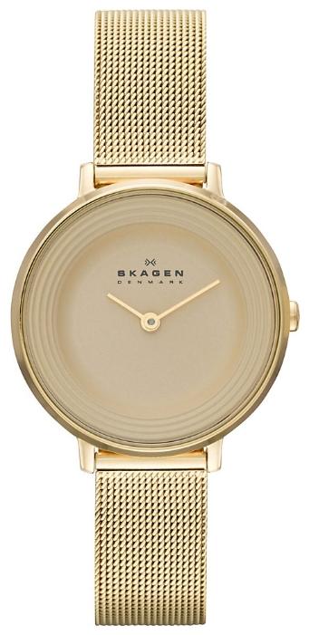Skagen SKW2212 - женские наручные часы из коллекции MeshSkagen<br><br><br>Бренд: Skagen<br>Модель: Skagen<br>Артикул: SKW2212<br>Вариант артикула: None<br>Коллекция: Mesh<br>Подколлекция: None<br>Страна: Дания<br>Пол: женские<br>Тип механизма: кварцевые<br>Механизм: None<br>Количество камней: None<br>Автоподзавод: None<br>Источник энергии: от батарейки<br>Срок службы элемента питания: None<br>Дисплей: стрелки<br>Цифры: отсутствуют<br>Водозащита: WR 30<br>Противоударные: None<br>Материал корпуса: нерж. сталь, PVD покрытие: позолота (полное)<br>Материал браслета: нерж. сталь, PVD покрытие (полное): позолота<br>Материал безеля: None<br>Стекло: минеральное<br>Антибликовое покрытие: None<br>Цвет корпуса: None<br>Цвет браслета: None<br>Цвет циферблата: None<br>Цвет безеля: None<br>Размеры: None<br>Диаметр: None<br>Диаметр корпуса: None<br>Толщина: None<br>Ширина ремешка: None<br>Вес: None<br>Спорт-функции: None<br>Подсветка: None<br>Вставка: None<br>Отображение даты: None<br>Хронограф: None<br>Таймер: None<br>Термометр: None<br>Хронометр: None<br>GPS: None<br>Радиосинхронизация: None<br>Барометр: None<br>Скелетон: None<br>Дополнительная информация: None<br>Дополнительные функции: None