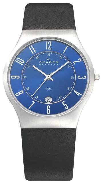 Skagen 233XXLSLN - мужские наручные часы из коллекции LeatherSkagen<br><br><br>Бренд: Skagen<br>Модель: Skagen 233XXLSLN<br>Артикул: 233XXLSLN<br>Вариант артикула: None<br>Коллекция: Leather<br>Подколлекция: None<br>Страна: Дания<br>Пол: мужские<br>Тип механизма: кварцевые<br>Механизм: None<br>Количество камней: None<br>Автоподзавод: None<br>Источник энергии: от батарейки<br>Срок службы элемента питания: None<br>Дисплей: стрелки<br>Цифры: арабские<br>Водозащита: WR 30<br>Противоударные: None<br>Материал корпуса: нерж. сталь<br>Материал браслета: кожа<br>Материал безеля: None<br>Стекло: минеральное<br>Антибликовое покрытие: None<br>Цвет корпуса: None<br>Цвет браслета: None<br>Цвет циферблата: None<br>Цвет безеля: None<br>Размеры: 37x37x7.75 мм<br>Диаметр: None<br>Диаметр корпуса: None<br>Толщина: None<br>Ширина ремешка: None<br>Вес: None<br>Спорт-функции: None<br>Подсветка: None<br>Вставка: None<br>Отображение даты: число<br>Хронограф: None<br>Таймер: None<br>Термометр: None<br>Хронометр: None<br>GPS: None<br>Радиосинхронизация: None<br>Барометр: None<br>Скелетон: None<br>Дополнительная информация: None<br>Дополнительные функции: None