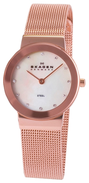 Skagen 358SRRD - женские наручные часы из коллекции MeshSkagen<br><br><br>Бренд: Skagen<br>Модель: Skagen 358SRRD<br>Артикул: 358SRRD<br>Вариант артикула: None<br>Коллекция: Mesh<br>Подколлекция: None<br>Страна: Дания<br>Пол: женские<br>Тип механизма: кварцевые<br>Механизм: None<br>Количество камней: None<br>Автоподзавод: None<br>Источник энергии: от батарейки<br>Срок службы элемента питания: None<br>Дисплей: стрелки<br>Цифры: отсутствуют<br>Водозащита: WR 30<br>Противоударные: None<br>Материал корпуса: нерж. сталь, покрытие: позолота<br>Материал браслета: не указан, покрытие: позолота<br>Материал безеля: None<br>Стекло: минеральное<br>Антибликовое покрытие: None<br>Цвет корпуса: None<br>Цвет браслета: None<br>Цвет циферблата: None<br>Цвет безеля: None<br>Размеры: None<br>Диаметр: None<br>Диаметр корпуса: None<br>Толщина: None<br>Ширина ремешка: None<br>Вес: None<br>Спорт-функции: None<br>Подсветка: None<br>Вставка: кристаллы Swarovski<br>Отображение даты: None<br>Хронограф: None<br>Таймер: None<br>Термометр: None<br>Хронометр: None<br>GPS: None<br>Радиосинхронизация: None<br>Барометр: None<br>Скелетон: None<br>Дополнительная информация: позолота 5 мкм, позолоченные стрелки<br>Дополнительные функции: None