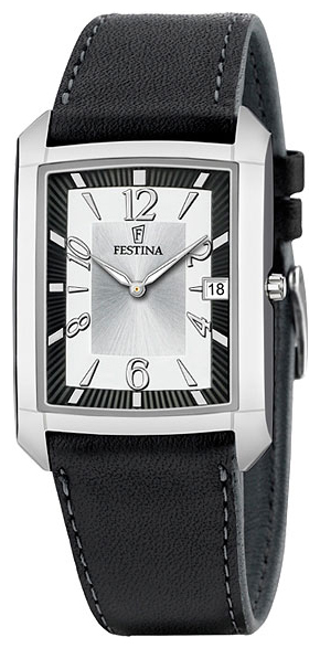 Festina F6748.1 - мужские наручные часы из коллекции ClassicFestina<br><br><br>Бренд: Festina<br>Модель: Festina F6748/1<br>Артикул: F6748.1<br>Вариант артикула: None<br>Коллекция: Classic<br>Подколлекция: None<br>Страна: Испания<br>Пол: мужские<br>Тип механизма: кварцевые<br>Механизм: Miyota 9U15<br>Количество камней: None<br>Автоподзавод: None<br>Источник энергии: от батарейки<br>Срок службы элемента питания: None<br>Дисплей: стрелки<br>Цифры: арабские<br>Водозащита: WR 30<br>Противоударные: None<br>Материал корпуса: нерж. сталь<br>Материал браслета: кожа<br>Материал безеля: None<br>Стекло: минеральное<br>Антибликовое покрытие: None<br>Цвет корпуса: None<br>Цвет браслета: None<br>Цвет циферблата: None<br>Цвет безеля: None<br>Размеры: 23 мм<br>Диаметр: None<br>Диаметр корпуса: None<br>Толщина: None<br>Ширина ремешка: None<br>Вес: None<br>Спорт-функции: None<br>Подсветка: стрелок<br>Вставка: None<br>Отображение даты: число<br>Хронограф: None<br>Таймер: None<br>Термометр: None<br>Хронометр: None<br>GPS: None<br>Радиосинхронизация: None<br>Барометр: None<br>Скелетон: None<br>Дополнительная информация: None<br>Дополнительные функции: None