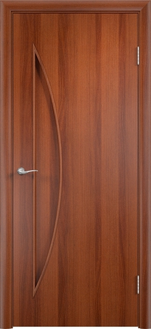 > > >Дверь Верда C-6, цвет итальянский орех, глухая