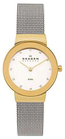 Skagen 358SGSCD - женские наручные часы из коллекции MeshSkagen<br><br><br>Бренд: Skagen<br>Модель: Skagen 358SGSCD<br>Артикул: 358SGSCD<br>Вариант артикула: None<br>Коллекция: Mesh<br>Подколлекция: None<br>Страна: Дания<br>Пол: женские<br>Тип механизма: кварцевые<br>Механизм: None<br>Количество камней: None<br>Автоподзавод: None<br>Источник энергии: от батарейки<br>Срок службы элемента питания: None<br>Дисплей: стрелки<br>Цифры: отсутствуют<br>Водозащита: WR 30<br>Противоударные: None<br>Материал корпуса: нерж. сталь, покрытие: позолота<br>Материал браслета: нерж. сталь<br>Материал безеля: None<br>Стекло: минеральное<br>Антибликовое покрытие: None<br>Цвет корпуса: None<br>Цвет браслета: None<br>Цвет циферблата: None<br>Цвет безеля: None<br>Размеры: 25x25 мм<br>Диаметр: None<br>Диаметр корпуса: None<br>Толщина: None<br>Ширина ремешка: None<br>Вес: None<br>Спорт-функции: None<br>Подсветка: None<br>Вставка: кристаллы Swarovski<br>Отображение даты: None<br>Хронограф: None<br>Таймер: None<br>Термометр: None<br>Хронометр: None<br>GPS: None<br>Радиосинхронизация: None<br>Барометр: None<br>Скелетон: None<br>Дополнительная информация: позолота 5 мкм<br>Дополнительные функции: None