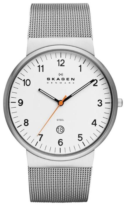 Skagen SKW6025 - мужские наручные часы из коллекции MeshSkagen<br><br><br>Бренд: Skagen<br>Модель: Skagen SKW6025<br>Артикул: SKW6025<br>Вариант артикула: None<br>Коллекция: Mesh<br>Подколлекция: None<br>Страна: Дания<br>Пол: мужские<br>Тип механизма: кварцевые<br>Механизм: None<br>Количество камней: None<br>Автоподзавод: None<br>Источник энергии: от батарейки<br>Срок службы элемента питания: None<br>Дисплей: стрелки<br>Цифры: арабские<br>Водозащита: WR 30<br>Противоударные: None<br>Материал корпуса: нерж. сталь<br>Материал браслета: нерж. сталь<br>Материал безеля: None<br>Стекло: минеральное<br>Антибликовое покрытие: None<br>Цвет корпуса: None<br>Цвет браслета: None<br>Цвет циферблата: None<br>Цвет безеля: None<br>Размеры: 40x45.3x7.9 мм<br>Диаметр: None<br>Диаметр корпуса: None<br>Толщина: None<br>Ширина ремешка: None<br>Вес: None<br>Спорт-функции: None<br>Подсветка: None<br>Вставка: None<br>Отображение даты: число<br>Хронограф: None<br>Таймер: None<br>Термометр: None<br>Хронометр: None<br>GPS: None<br>Радиосинхронизация: None<br>Барометр: None<br>Скелетон: None<br>Дополнительная информация: None<br>Дополнительные функции: None