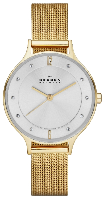 Skagen SKW2150 - женские наручные часы из коллекции MeshSkagen<br><br><br>Бренд: Skagen<br>Модель: Skagen SKW2150<br>Артикул: SKW2150<br>Вариант артикула: None<br>Коллекция: Mesh<br>Подколлекция: None<br>Страна: Дания<br>Пол: женские<br>Тип механизма: кварцевые<br>Механизм: None<br>Количество камней: None<br>Автоподзавод: None<br>Источник энергии: от батарейки<br>Срок службы элемента питания: None<br>Дисплей: стрелки<br>Цифры: арабские<br>Водозащита: WR 30<br>Противоударные: None<br>Материал корпуса: нерж. сталь, полное покрытие корпуса<br>Материал браслета: нерж. сталь, полное дополнительное покрытие<br>Материал безеля: None<br>Стекло: минеральное<br>Антибликовое покрытие: None<br>Цвет корпуса: None<br>Цвет браслета: None<br>Цвет циферблата: None<br>Цвет безеля: None<br>Размеры: 30 мм<br>Диаметр: None<br>Диаметр корпуса: None<br>Толщина: None<br>Ширина ремешка: None<br>Вес: None<br>Спорт-функции: None<br>Подсветка: None<br>Вставка: None<br>Отображение даты: None<br>Хронограф: None<br>Таймер: None<br>Термометр: None<br>Хронометр: None<br>GPS: None<br>Радиосинхронизация: None<br>Барометр: None<br>Скелетон: None<br>Дополнительная информация: None<br>Дополнительные функции: None