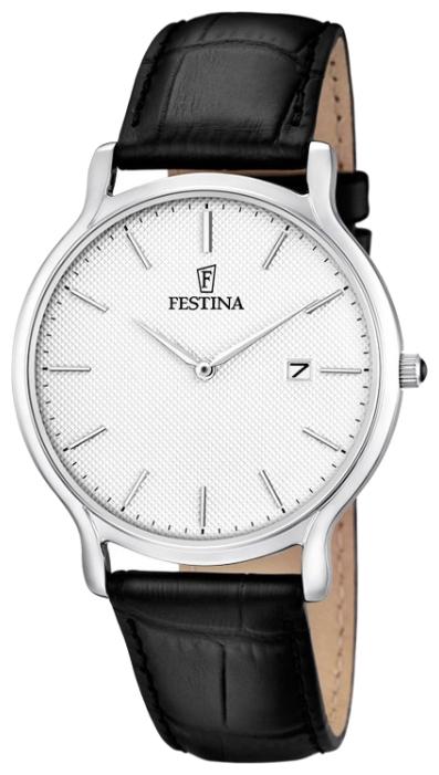 Festina F6828.1 - мужские наручные часы из коллекции Correa ClasicoFestina<br><br><br>Бренд: Festina<br>Модель: Festina F6828/1<br>Артикул: F6828.1<br>Вариант артикула: None<br>Коллекция: Correa Clasico<br>Подколлекция: None<br>Страна: Испания<br>Пол: мужские<br>Тип механизма: кварцевые<br>Механизм: M9U15<br>Количество камней: None<br>Автоподзавод: None<br>Источник энергии: от батарейки<br>Срок службы элемента питания: None<br>Дисплей: стрелки<br>Цифры: отсутствуют<br>Водозащита: WR 30<br>Противоударные: None<br>Материал корпуса: нерж. сталь<br>Материал браслета: кожа<br>Материал безеля: None<br>Стекло: минеральное<br>Антибликовое покрытие: None<br>Цвет корпуса: None<br>Цвет браслета: None<br>Цвет циферблата: None<br>Цвет безеля: None<br>Размеры: 40x6 мм<br>Диаметр: None<br>Диаметр корпуса: None<br>Толщина: None<br>Ширина ремешка: None<br>Вес: None<br>Спорт-функции: None<br>Подсветка: None<br>Вставка: None<br>Отображение даты: число<br>Хронограф: None<br>Таймер: None<br>Термометр: None<br>Хронометр: None<br>GPS: None<br>Радиосинхронизация: None<br>Барометр: None<br>Скелетон: None<br>Дополнительная информация: None<br>Дополнительные функции: None
