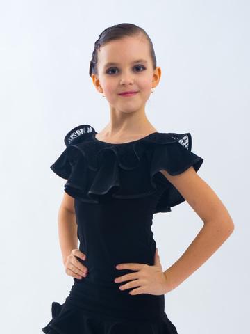 Детский топ для танцев арт. 405/2