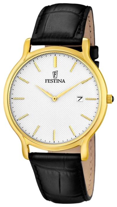 Festina F6829.1 - мужские наручные часы из коллекции Correa ClasicoFestina<br><br><br>Бренд: Festina<br>Модель: Festina F6829/1<br>Артикул: F6829.1<br>Вариант артикула: None<br>Коллекция: Correa Clasico<br>Подколлекция: None<br>Страна: Испания<br>Пол: мужские<br>Тип механизма: кварцевые<br>Механизм: M9U15<br>Количество камней: None<br>Автоподзавод: None<br>Источник энергии: от батарейки<br>Срок службы элемента питания: None<br>Дисплей: стрелки<br>Цифры: отсутствуют<br>Водозащита: WR 30<br>Противоударные: None<br>Материал корпуса: нерж. сталь, PVD покрытие (полное)<br>Материал браслета: кожа<br>Материал безеля: None<br>Стекло: минеральное<br>Антибликовое покрытие: None<br>Цвет корпуса: None<br>Цвет браслета: None<br>Цвет циферблата: None<br>Цвет безеля: None<br>Размеры: 40x6 мм<br>Диаметр: None<br>Диаметр корпуса: None<br>Толщина: None<br>Ширина ремешка: None<br>Вес: None<br>Спорт-функции: None<br>Подсветка: None<br>Вставка: None<br>Отображение даты: число<br>Хронограф: None<br>Таймер: None<br>Термометр: None<br>Хронометр: None<br>GPS: None<br>Радиосинхронизация: None<br>Барометр: None<br>Скелетон: None<br>Дополнительная информация: None<br>Дополнительные функции: None