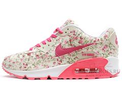 Кроссовки женские Nike Air Max 90 Coral Flower