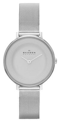 Skagen SKW2211 - женские наручные часы из коллекции MeshSkagen<br><br><br>Бренд: Skagen<br>Модель: Skagen SKW2211<br>Артикул: SKW2211<br>Вариант артикула: None<br>Коллекция: Mesh<br>Подколлекция: None<br>Страна: Дания<br>Пол: женские<br>Тип механизма: кварцевые<br>Механизм: None<br>Количество камней: None<br>Автоподзавод: None<br>Источник энергии: от батарейки<br>Срок службы элемента питания: None<br>Дисплей: стрелки<br>Цифры: отсутствуют<br>Водозащита: WR 30<br>Противоударные: None<br>Материал корпуса: нерж. сталь<br>Материал браслета: нерж. сталь<br>Материал безеля: None<br>Стекло: минеральное<br>Антибликовое покрытие: None<br>Цвет корпуса: None<br>Цвет браслета: None<br>Цвет циферблата: None<br>Цвет безеля: None<br>Размеры: None<br>Диаметр: None<br>Диаметр корпуса: None<br>Толщина: None<br>Ширина ремешка: None<br>Вес: None<br>Спорт-функции: None<br>Подсветка: None<br>Вставка: None<br>Отображение даты: None<br>Хронограф: None<br>Таймер: None<br>Термометр: None<br>Хронометр: None<br>GPS: None<br>Радиосинхронизация: None<br>Барометр: None<br>Скелетон: None<br>Дополнительная информация: None<br>Дополнительные функции: None
