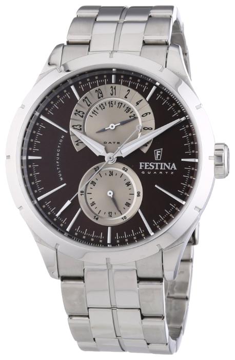 Festina F16632.8 - мужские наручные часы из коллекции RetroFestina<br><br><br>Бренд: Festina<br>Модель: Festina F16632/8<br>Артикул: F16632.8<br>Вариант артикула: None<br>Коллекция: Retro<br>Подколлекция: None<br>Страна: Испания<br>Пол: мужские<br>Тип механизма: кварцевые<br>Механизм: Miyota 6P73<br>Количество камней: None<br>Автоподзавод: None<br>Источник энергии: от батарейки<br>Срок службы элемента питания: None<br>Дисплей: стрелки<br>Цифры: отсутствуют<br>Водозащита: WR 50<br>Противоударные: None<br>Материал корпуса: нерж. сталь<br>Материал браслета: нерж. сталь<br>Материал безеля: None<br>Стекло: минеральное<br>Антибликовое покрытие: None<br>Цвет корпуса: None<br>Цвет браслета: None<br>Цвет циферблата: None<br>Цвет безеля: None<br>Размеры: 46 мм<br>Диаметр: None<br>Диаметр корпуса: None<br>Толщина: None<br>Ширина ремешка: None<br>Вес: None<br>Спорт-функции: None<br>Подсветка: стрелок<br>Вставка: None<br>Отображение даты: число<br>Хронограф: None<br>Таймер: None<br>Термометр: None<br>Хронометр: None<br>GPS: None<br>Радиосинхронизация: None<br>Барометр: None<br>Скелетон: None<br>Дополнительная информация: срок службы батарейки 3 года<br>Дополнительные функции: None