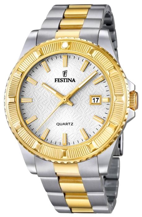Festina F16683.1 - мужские наручные часы из коллекции TrendFestina<br><br><br>Бренд: Festina<br>Модель: Festina F16683/1<br>Артикул: F16683.1<br>Вариант артикула: None<br>Коллекция: Trend<br>Подколлекция: None<br>Страна: Испания<br>Пол: мужские<br>Тип механизма: кварцевые<br>Механизм: MGM10<br>Количество камней: None<br>Автоподзавод: None<br>Источник энергии: от батарейки<br>Срок службы элемента питания: None<br>Дисплей: стрелки<br>Цифры: отсутствуют<br>Водозащита: WR 50<br>Противоударные: None<br>Материал корпуса: нерж. сталь, PVD покрытие (частичное)<br>Материал браслета: нерж. сталь, PVD покрытие (частичное)<br>Материал безеля: None<br>Стекло: минеральное<br>Антибликовое покрытие: None<br>Цвет корпуса: None<br>Цвет браслета: None<br>Цвет циферблата: None<br>Цвет безеля: None<br>Размеры: 40 мм<br>Диаметр: None<br>Диаметр корпуса: None<br>Толщина: None<br>Ширина ремешка: None<br>Вес: None<br>Спорт-функции: None<br>Подсветка: стрелок<br>Вставка: None<br>Отображение даты: число<br>Хронограф: None<br>Таймер: None<br>Термометр: None<br>Хронометр: None<br>GPS: None<br>Радиосинхронизация: None<br>Барометр: None<br>Скелетон: None<br>Дополнительная информация: None<br>Дополнительные функции: None
