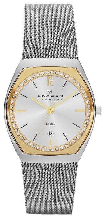 Skagen SKW2050 - женские наручные часы из коллекции MeshSkagen<br><br><br>Бренд: Skagen<br>Модель: Skagen SKW2050<br>Артикул: SKW2050<br>Вариант артикула: None<br>Коллекция: Mesh<br>Подколлекция: None<br>Страна: Дания<br>Пол: женские<br>Тип механизма: кварцевые<br>Механизм: None<br>Количество камней: None<br>Автоподзавод: None<br>Источник энергии: от батарейки<br>Срок службы элемента питания: None<br>Дисплей: стрелки<br>Цифры: арабские<br>Водозащита: WR 30<br>Противоударные: None<br>Материал корпуса: нерж. сталь, частичное покрытие корпуса<br>Материал браслета: нерж. сталь<br>Материал безеля: None<br>Стекло: минеральное<br>Антибликовое покрытие: None<br>Цвет корпуса: None<br>Цвет браслета: None<br>Цвет циферблата: None<br>Цвет безеля: None<br>Размеры: 28x7.25 мм<br>Диаметр: None<br>Диаметр корпуса: None<br>Толщина: None<br>Ширина ремешка: None<br>Вес: None<br>Спорт-функции: None<br>Подсветка: None<br>Вставка: None<br>Отображение даты: число<br>Хронограф: None<br>Таймер: None<br>Термометр: None<br>Хронометр: None<br>GPS: None<br>Радиосинхронизация: None<br>Барометр: None<br>Скелетон: None<br>Дополнительная информация: None<br>Дополнительные функции: None