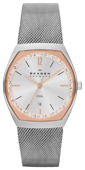 Skagen SKW2051 - женские наручные часы из коллекции MeshSkagen<br><br><br>Бренд: Skagen<br>Модель: Skagen SKW2051<br>Артикул: SKW2051<br>Вариант артикула: None<br>Коллекция: Mesh<br>Подколлекция: None<br>Страна: Дания<br>Пол: женские<br>Тип механизма: кварцевые<br>Механизм: None<br>Количество камней: None<br>Автоподзавод: None<br>Источник энергии: от батарейки<br>Срок службы элемента питания: None<br>Дисплей: стрелки<br>Цифры: арабские<br>Водозащита: WR 30<br>Противоударные: None<br>Материал корпуса: нерж. сталь<br>Материал браслета: нерж. сталь<br>Материал безеля: None<br>Стекло: минеральное<br>Антибликовое покрытие: None<br>Цвет корпуса: None<br>Цвет браслета: None<br>Цвет циферблата: None<br>Цвет безеля: None<br>Размеры: 28x7.25 мм<br>Диаметр: None<br>Диаметр корпуса: None<br>Толщина: None<br>Ширина ремешка: None<br>Вес: None<br>Спорт-функции: None<br>Подсветка: None<br>Вставка: None<br>Отображение даты: число<br>Хронограф: None<br>Таймер: None<br>Термометр: None<br>Хронометр: None<br>GPS: None<br>Радиосинхронизация: None<br>Барометр: None<br>Скелетон: None<br>Дополнительная информация: None<br>Дополнительные функции: None