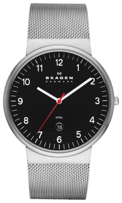 Skagen SKW6051 - мужские наручные часы из коллекции MeshSkagen<br><br><br>Бренд: Skagen<br>Модель: Skagen SKW6051<br>Артикул: SKW6051<br>Вариант артикула: None<br>Коллекция: Mesh<br>Подколлекция: None<br>Страна: Дания<br>Пол: мужские<br>Тип механизма: кварцевые<br>Механизм: None<br>Количество камней: None<br>Автоподзавод: None<br>Источник энергии: от батарейки<br>Срок службы элемента питания: None<br>Дисплей: стрелки<br>Цифры: арабские<br>Водозащита: WR 30<br>Противоударные: None<br>Материал корпуса: нерж. сталь<br>Материал браслета: нерж. сталь<br>Материал безеля: None<br>Стекло: минеральное<br>Антибликовое покрытие: None<br>Цвет корпуса: None<br>Цвет браслета: None<br>Цвет циферблата: None<br>Цвет безеля: None<br>Размеры: 40x45.3x7.9 мм<br>Диаметр: None<br>Диаметр корпуса: None<br>Толщина: None<br>Ширина ремешка: None<br>Вес: None<br>Спорт-функции: None<br>Подсветка: None<br>Вставка: None<br>Отображение даты: число<br>Хронограф: None<br>Таймер: None<br>Термометр: None<br>Хронометр: None<br>GPS: None<br>Радиосинхронизация: None<br>Барометр: None<br>Скелетон: None<br>Дополнительная информация: None<br>Дополнительные функции: None