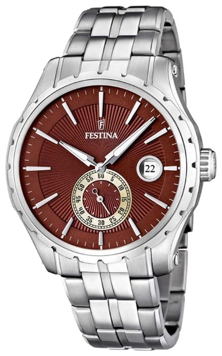 Festina F16679.3 - мужские наручные часы из коллекции RetroFestina<br><br><br>Бренд: Festina<br>Модель: Festina F16679/3<br>Артикул: F16679.3<br>Вариант артикула: None<br>Коллекция: Retro<br>Подколлекция: None<br>Страна: Испания<br>Пол: мужские<br>Тип механизма: кварцевые<br>Механизм: None<br>Количество камней: None<br>Автоподзавод: None<br>Источник энергии: от батарейки<br>Срок службы элемента питания: None<br>Дисплей: стрелки<br>Цифры: отсутствуют<br>Водозащита: WR 50<br>Противоударные: None<br>Материал корпуса: нерж. сталь<br>Материал браслета: нерж. сталь<br>Материал безеля: None<br>Стекло: минеральное<br>Антибликовое покрытие: None<br>Цвет корпуса: None<br>Цвет браслета: None<br>Цвет циферблата: None<br>Цвет безеля: None<br>Размеры: 44x12 мм<br>Диаметр: None<br>Диаметр корпуса: None<br>Толщина: None<br>Ширина ремешка: None<br>Вес: None<br>Спорт-функции: None<br>Подсветка: стрелок<br>Вставка: None<br>Отображение даты: число<br>Хронограф: None<br>Таймер: None<br>Термометр: None<br>Хронометр: None<br>GPS: None<br>Радиосинхронизация: None<br>Барометр: None<br>Скелетон: None<br>Дополнительная информация: None<br>Дополнительные функции: None