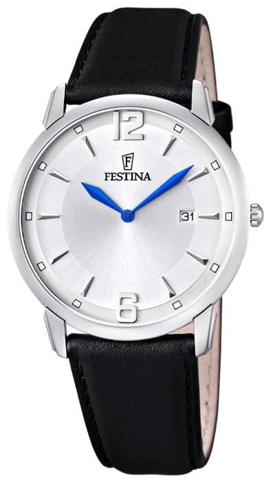 Festina F6813.3 - мужские наручные часы из коллекции Correa ClasicoFestina<br><br><br>Бренд: Festina<br>Модель: Festina F6813/3<br>Артикул: F6813.3<br>Вариант артикула: None<br>Коллекция: Correa Clasico<br>Подколлекция: None<br>Страна: Испания<br>Пол: мужские<br>Тип механизма: кварцевые<br>Механизм: None<br>Количество камней: None<br>Автоподзавод: None<br>Источник энергии: от батарейки<br>Срок службы элемента питания: None<br>Дисплей: стрелки<br>Цифры: арабские<br>Водозащита: WR 30<br>Противоударные: None<br>Материал корпуса: нерж. сталь<br>Материал браслета: кожа<br>Материал безеля: None<br>Стекло: минеральное<br>Антибликовое покрытие: None<br>Цвет корпуса: None<br>Цвет браслета: None<br>Цвет циферблата: None<br>Цвет безеля: None<br>Размеры: 40 мм<br>Диаметр: None<br>Диаметр корпуса: None<br>Толщина: None<br>Ширина ремешка: None<br>Вес: None<br>Спорт-функции: None<br>Подсветка: None<br>Вставка: None<br>Отображение даты: число<br>Хронограф: None<br>Таймер: None<br>Термометр: None<br>Хронометр: None<br>GPS: None<br>Радиосинхронизация: None<br>Барометр: None<br>Скелетон: None<br>Дополнительная информация: None<br>Дополнительные функции: None