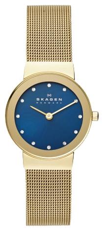 Skagen SKW2182 - женские наручные часы из коллекции MeshSkagen<br><br><br>Бренд: Skagen<br>Модель: Skagen<br>Артикул: SKW2182<br>Вариант артикула: None<br>Коллекция: Mesh<br>Подколлекция: None<br>Страна: Дания<br>Пол: женские<br>Тип механизма: кварцевые<br>Механизм: None<br>Количество камней: None<br>Автоподзавод: None<br>Источник энергии: от батарейки<br>Срок службы элемента питания: None<br>Дисплей: стрелки<br>Цифры: отсутствуют<br>Водозащита: WR 30<br>Противоударные: None<br>Материал корпуса: нерж. сталь, полное покрытие корпуса<br>Материал браслета: нерж. сталь, полное дополнительное покрытие<br>Материал безеля: None<br>Стекло: минеральное<br>Антибликовое покрытие: None<br>Цвет корпуса: None<br>Цвет браслета: None<br>Цвет циферблата: None<br>Цвет безеля: None<br>Размеры: 26x5.4 мм<br>Диаметр: None<br>Диаметр корпуса: None<br>Толщина: None<br>Ширина ремешка: None<br>Вес: None<br>Спорт-функции: None<br>Подсветка: None<br>Вставка: None<br>Отображение даты: None<br>Хронограф: None<br>Таймер: None<br>Термометр: None<br>Хронометр: None<br>GPS: None<br>Радиосинхронизация: None<br>Барометр: None<br>Скелетон: None<br>Дополнительная информация: None<br>Дополнительные функции: None