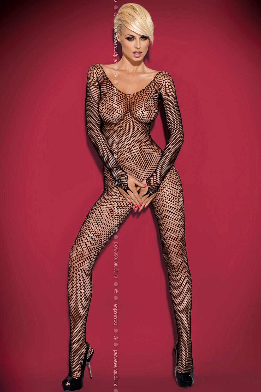 Эротический сплошной костюм из нейлона 4 фотография