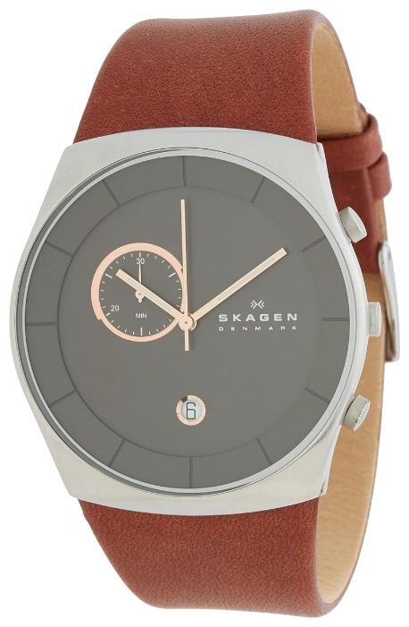 Skagen SKW6085 - мужские наручные часы из коллекции LeatherSkagen<br><br><br>Бренд: Skagen<br>Модель: Skagen SKW6085<br>Артикул: SKW6085<br>Вариант артикула: None<br>Коллекция: Leather<br>Подколлекция: None<br>Страна: Дания<br>Пол: мужские<br>Тип механизма: кварцевые<br>Механизм: None<br>Количество камней: None<br>Автоподзавод: None<br>Источник энергии: от батарейки<br>Срок службы элемента питания: None<br>Дисплей: стрелки<br>Цифры: отсутствуют<br>Водозащита: WR 50<br>Противоударные: None<br>Материал корпуса: нерж. сталь<br>Материал браслета: кожа<br>Материал безеля: None<br>Стекло: минеральное<br>Антибликовое покрытие: None<br>Цвет корпуса: None<br>Цвет браслета: None<br>Цвет циферблата: None<br>Цвет безеля: None<br>Размеры: 42x8 мм<br>Диаметр: None<br>Диаметр корпуса: None<br>Толщина: None<br>Ширина ремешка: None<br>Вес: None<br>Спорт-функции: None<br>Подсветка: стрелок<br>Вставка: None<br>Отображение даты: число<br>Хронограф: есть<br>Таймер: None<br>Термометр: None<br>Хронометр: None<br>GPS: None<br>Радиосинхронизация: None<br>Барометр: None<br>Скелетон: None<br>Дополнительная информация: None<br>Дополнительные функции: None