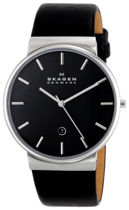 Skagen SKW6104 - мужские наручные часы из коллекции LeatherSkagen<br><br><br>Бренд: Skagen<br>Модель: Skagen SKW6104<br>Артикул: SKW6104<br>Вариант артикула: None<br>Коллекция: Leather<br>Подколлекция: None<br>Страна: Дания<br>Пол: мужские<br>Тип механизма: кварцевые<br>Механизм: None<br>Количество камней: None<br>Автоподзавод: None<br>Источник энергии: от батарейки<br>Срок службы элемента питания: None<br>Дисплей: стрелки<br>Цифры: отсутствуют<br>Водозащита: WR 30<br>Противоударные: None<br>Материал корпуса: нерж. сталь<br>Материал браслета: кожа (не указан)<br>Материал безеля: None<br>Стекло: минеральное<br>Антибликовое покрытие: None<br>Цвет корпуса: None<br>Цвет браслета: None<br>Цвет циферблата: None<br>Цвет безеля: None<br>Размеры: 40x8 мм<br>Диаметр: None<br>Диаметр корпуса: None<br>Толщина: None<br>Ширина ремешка: None<br>Вес: None<br>Спорт-функции: None<br>Подсветка: None<br>Вставка: None<br>Отображение даты: число<br>Хронограф: None<br>Таймер: None<br>Термометр: None<br>Хронометр: None<br>GPS: None<br>Радиосинхронизация: None<br>Барометр: None<br>Скелетон: None<br>Дополнительная информация: None<br>Дополнительные функции: None