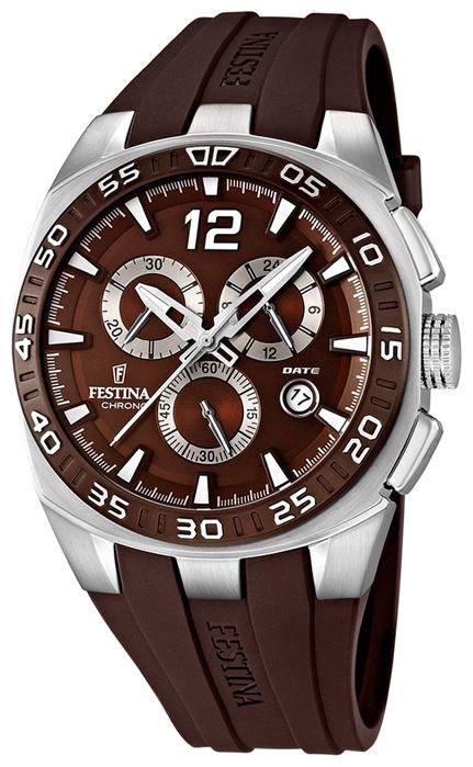 Festina F16668.3 - мужские наручные часы из коллекции SportFestina<br><br><br>Бренд: Festina<br>Модель: Festina F16668/3<br>Артикул: F16668.3<br>Вариант артикула: None<br>Коллекция: Sport<br>Подколлекция: None<br>Страна: Испания<br>Пол: мужские<br>Тип механизма: кварцевые<br>Механизм: None<br>Количество камней: None<br>Автоподзавод: None<br>Источник энергии: от батарейки<br>Срок службы элемента питания: None<br>Дисплей: стрелки<br>Цифры: арабские<br>Водозащита: WR 100<br>Противоударные: None<br>Материал корпуса: нерж. сталь<br>Материал браслета: каучук<br>Материал безеля: None<br>Стекло: минеральное<br>Антибликовое покрытие: None<br>Цвет корпуса: None<br>Цвет браслета: None<br>Цвет циферблата: None<br>Цвет безеля: None<br>Размеры: 45x13 мм<br>Диаметр: None<br>Диаметр корпуса: None<br>Толщина: None<br>Ширина ремешка: None<br>Вес: 102 г<br>Спорт-функции: секундомер<br>Подсветка: стрелок<br>Вставка: None<br>Отображение даты: число<br>Хронограф: есть<br>Таймер: None<br>Термометр: None<br>Хронометр: None<br>GPS: None<br>Радиосинхронизация: None<br>Барометр: None<br>Скелетон: None<br>Дополнительная информация: None<br>Дополнительные функции: None