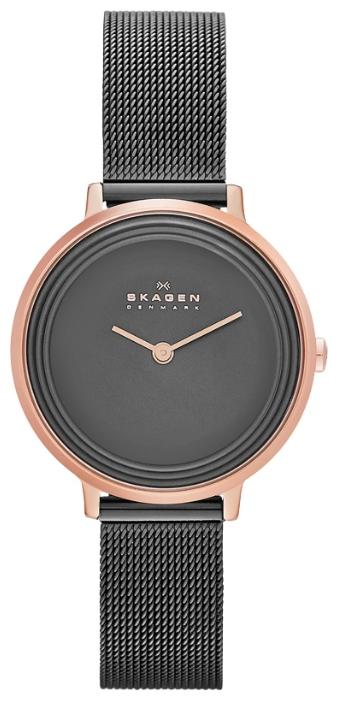 Skagen SKW2277 - женские наручные часы из коллекции MeshSkagen<br><br><br>Бренд: Skagen<br>Модель: Skagen<br>Артикул: SKW2277<br>Вариант артикула: None<br>Коллекция: Mesh<br>Подколлекция: None<br>Страна: Дания<br>Пол: женские<br>Тип механизма: кварцевые<br>Механизм: None<br>Количество камней: None<br>Автоподзавод: None<br>Источник энергии: от батарейки<br>Срок службы элемента питания: None<br>Дисплей: стрелки<br>Цифры: отсутствуют<br>Водозащита: WR 30<br>Противоударные: None<br>Материал корпуса: нерж. сталь, IP покрытие (полное)<br>Материал браслета: нерж. сталь, IP покрытие (полное)<br>Материал безеля: None<br>Стекло: минеральное<br>Антибликовое покрытие: None<br>Цвет корпуса: None<br>Цвет браслета: None<br>Цвет циферблата: None<br>Цвет безеля: None<br>Размеры: 30x7 мм<br>Диаметр: None<br>Диаметр корпуса: None<br>Толщина: None<br>Ширина ремешка: None<br>Вес: None<br>Спорт-функции: None<br>Подсветка: None<br>Вставка: None<br>Отображение даты: None<br>Хронограф: None<br>Таймер: None<br>Термометр: None<br>Хронометр: None<br>GPS: None<br>Радиосинхронизация: None<br>Барометр: None<br>Скелетон: None<br>Дополнительная информация: None<br>Дополнительные функции: None