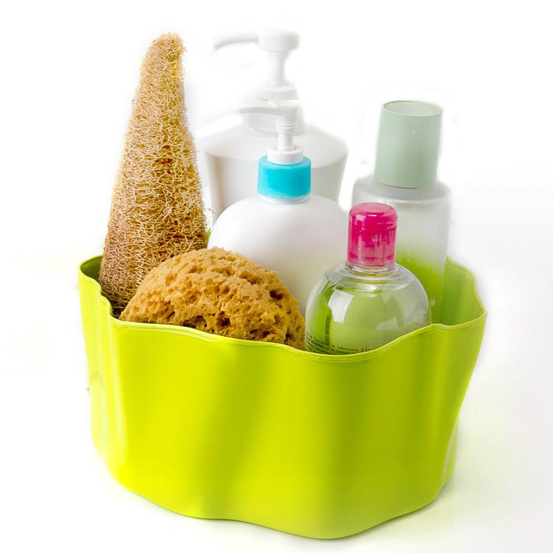 Органайзер Flow малый зеленый QL10143-GNОрганайзеры<br>Самое увлекательное, что назначение этой вещи вам нужно будет определить самим: такой органайзер может пригодиться на кухне, в ванной, в гостиной, на даче, на природе, в городе, в деревне. В него можно складывать фрукты, овощи, хлеб, кухонные приборы и аксессуары, всевозможные баночки и скляночки, можно использовать органайзер как мусорную корзину, вазу, хранилище для носков и так далее и тому подобное. Все зависит от вашей фантазии и от хозяйственных потребностей! Органайзер пригодится везде!<br>