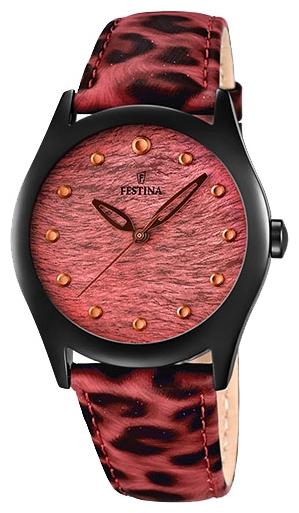 Festina F16649.2 - женские наручные часы из коллекции LadyFestina<br><br><br>Бренд: Festina<br>Модель: Festina F16649/2<br>Артикул: F16649.2<br>Вариант артикула: None<br>Коллекция: Lady<br>Подколлекция: None<br>Страна: Испания<br>Пол: женские<br>Тип механизма: кварцевые<br>Механизм: Miyota<br>Количество камней: None<br>Автоподзавод: None<br>Источник энергии: от батарейки<br>Срок службы элемента питания: None<br>Дисплей: стрелки<br>Цифры: отсутствуют<br>Водозащита: WR 50<br>Противоударные: None<br>Материал корпуса: нерж. сталь, PVD покрытие (полное)<br>Материал браслета: кожа<br>Материал безеля: None<br>Стекло: минеральное<br>Антибликовое покрытие: None<br>Цвет корпуса: None<br>Цвет браслета: None<br>Цвет циферблата: None<br>Цвет безеля: None<br>Размеры: 36 мм<br>Диаметр: None<br>Диаметр корпуса: None<br>Толщина: None<br>Ширина ремешка: None<br>Вес: None<br>Спорт-функции: None<br>Подсветка: None<br>Вставка: None<br>Отображение даты: None<br>Хронограф: None<br>Таймер: None<br>Термометр: None<br>Хронометр: None<br>GPS: None<br>Радиосинхронизация: None<br>Барометр: None<br>Скелетон: None<br>Дополнительная информация: элемент питания SR626SW, срок службы батарейки 3 года<br>Дополнительные функции: None